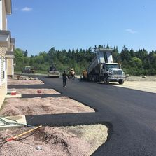 Townhouse complex paving