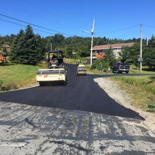 Road paving repair